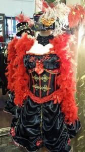#Burlesquekorsage rot schwarz Pink Pinscher Köln