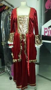 Königinkleid vorher