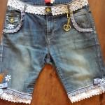 Trachten Jeanshotpants Pink Pinscher Köln