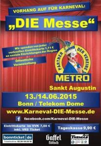 #Karnevalsmesse Bonn 2015 Pink Pinscher Köln