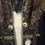 Gehrock Herren mit goldener Taschenuhr