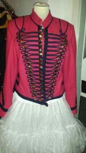Zirkusjacke Pink