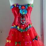 Sexy Clownkostüm Einzelstück Pink Pinscher Köln