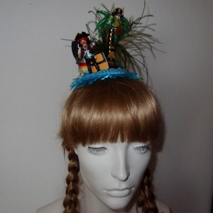 Fascinator Pirateninsel